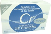 GRANIONS DE CHROME OLIGO ELEMENT 200ug 30 AMPOULES