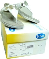 SCHOLL CHAUSSURE ACLARE ARGENT