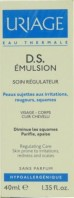 URIAGE DS EMULSION SOIN REGULATEUR VISAGE CORPS CUIR CHEVELU 40ML