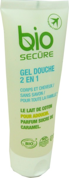 bio secure gel douche 2 en 1 corps et cheveux sans savon. Black Bedroom Furniture Sets. Home Design Ideas