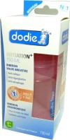 DODIE BIBERON INITIATION+ ROSE 150ML
