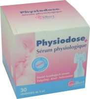PHYSIODOSE SERUM PHYSIOLOGIQUE GILBERT 30 UNIDOSES
