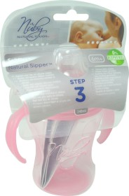 NUBY GOBELET SOFTFLEX 6M+ 240ML ROSE
