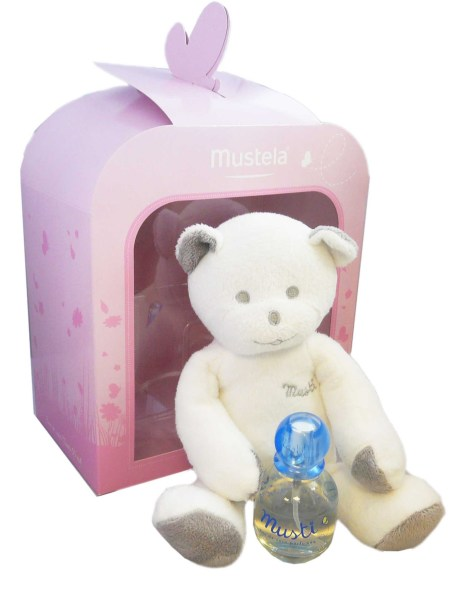 mustela coffret musti fille doudou parfum 2015 accessoires. Black Bedroom Furniture Sets. Home Design Ideas