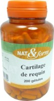 CARTILAGE DE REQUIN 200 GELULES