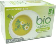 BIO NUTRISANTE INFUSION CAMOMILLE SOMMEIL-DIGESTION 20 SACHETS