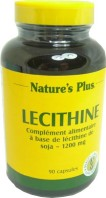 NATURE'S PLUS LECITHINE 90 CAPSULES