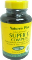 NATURE'S PLUS SUPER C COMPLEX 120 COMPRIMES