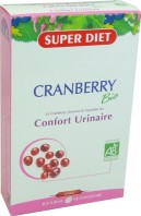 SUPER DIET CRANBERRY BIO CONFORT URINAIRE 20 AMPOULES
