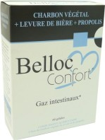 BELLOC CONFORT GAZ INTESTINAUX 60 GELULES