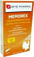 FORTE PHARMA MEMOREX PERFORMANCES INTELLECTUELLES 30GEL