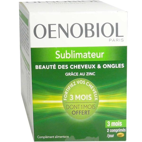 Oenobiol Sublimateur Beaute Des Cheveux Ongles 180gels