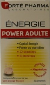 FORTE PHARMA ENERGIE POWER ADULTE 30 COMPRIMES EFFERVESCENTS