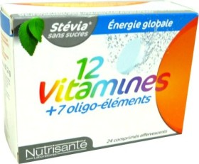 NUTRISANTE 12 VITAMINES 24 COMPS EFFERVESCENTS