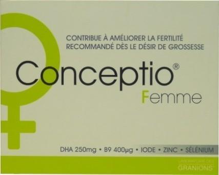 Granions Conceptio Femme 30 Gelules 30 Capsules