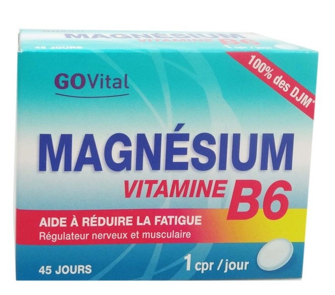 govital magnesium vitamine b6 45 comprimes. Black Bedroom Furniture Sets. Home Design Ideas