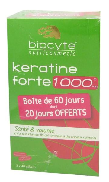 Keratine forte pousse cheveux