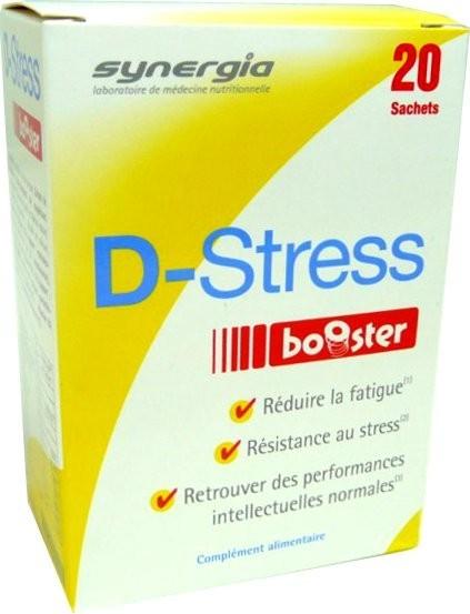 synergia d stress booster 20 sachets. Black Bedroom Furniture Sets. Home Design Ideas