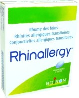 RHINALLERGY 40 COMPRIMES A SUCER