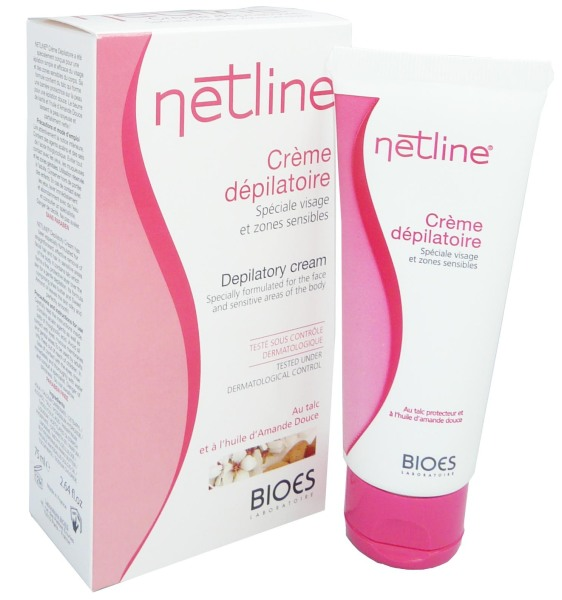 netline creme depilatoire visage 75ml. Black Bedroom Furniture Sets. Home Design Ideas