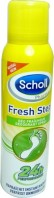 SCHOLL FRESH STEP 24H DEODORANT FRAICHEUR 150ML