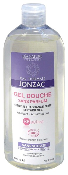 jonzac gel douche sans parfum peau sensible 500ml. Black Bedroom Furniture Sets. Home Design Ideas