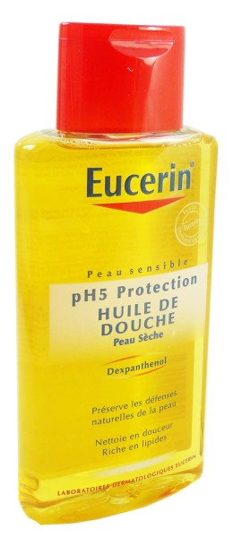 eucerin huile de douche peau seche 200ml. Black Bedroom Furniture Sets. Home Design Ideas