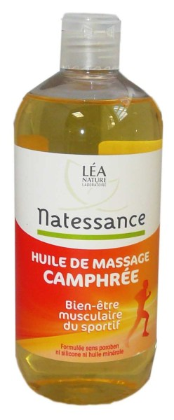 natessance huile de massage camphree 500ml. Black Bedroom Furniture Sets. Home Design Ideas