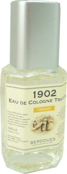 berdoues 1902 eau de cologne tonique 122ml. Black Bedroom Furniture Sets. Home Design Ideas