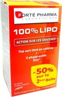 FORTE PHARMA 100% LIPO ACTION SUR LES GRAISSES LOT DE 2