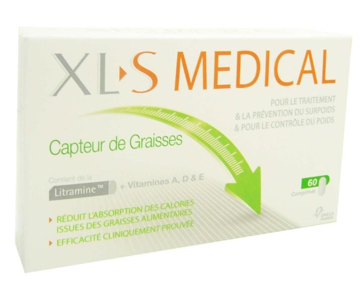 Xls medical capteur de graisses 60 comprimes - Xls medical capteur de graisse pas cher ...