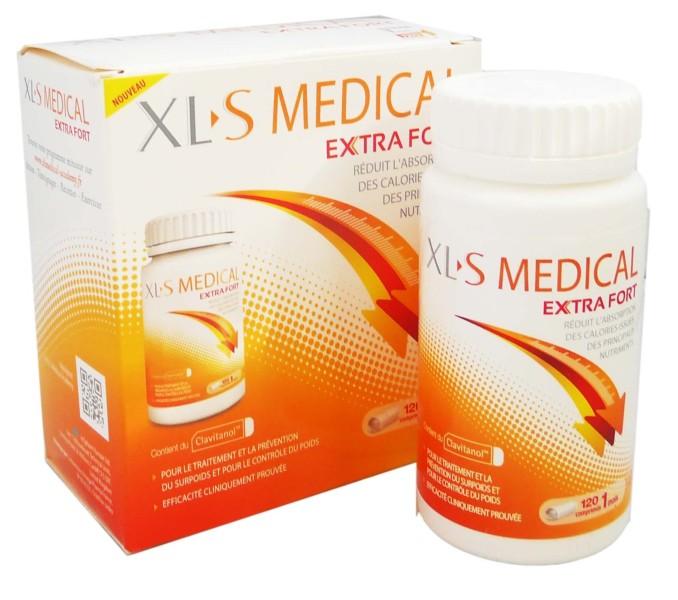 XLS MEDICAL EXTRA FORT 120 COMPRIMES