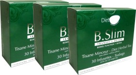 DIET WORLD B.SLIM TISANE MINCEUR 30 INFUSETTES LOT DE 3