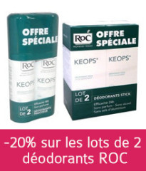 déodorants roc en promotion