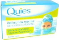 QUIES PROTECTION AUDITIVE 3 PAIRES SILICONE