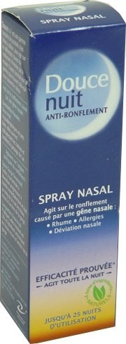 Douce nuit anti ronflement spray nasal 10 ml anti ronflement - Douce nuit ronflement ...