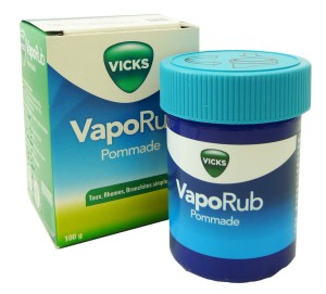 vicks vaporub pommade 100g rhume etat grippal. Black Bedroom Furniture Sets. Home Design Ideas