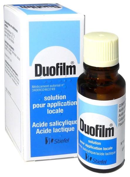 traitement verrue acide salicylique