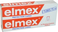 ELMEX PROTECTION CARIES LOT DE 2 TUBES DE 75ML