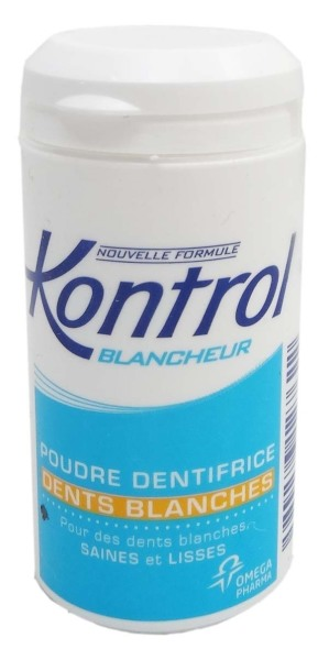 kontrol blancheur poudre dentifrice 30g. Black Bedroom Furniture Sets. Home Design Ideas