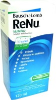 RENU MULTIPLUS SOLUTION MULTIFONCTIONS 120ML