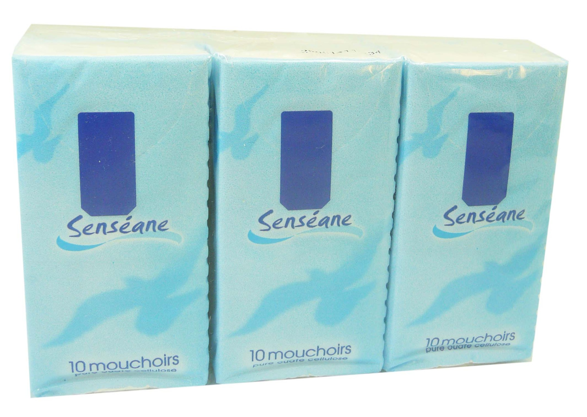 Senseane mouchoir nature lot de 6x10