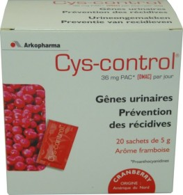CYS-CONTROL GENES URINAIRES 20 SACHETS