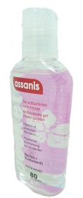ASSANIS GEL ANTIBACTERIEN MAINS FILLE 80ML