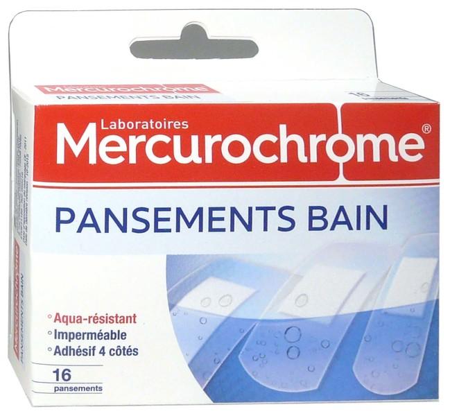 MERCUROCHROME PANSEMENTS BAIN x16. Cliquez pour agrandir la photo 79a30e46f824