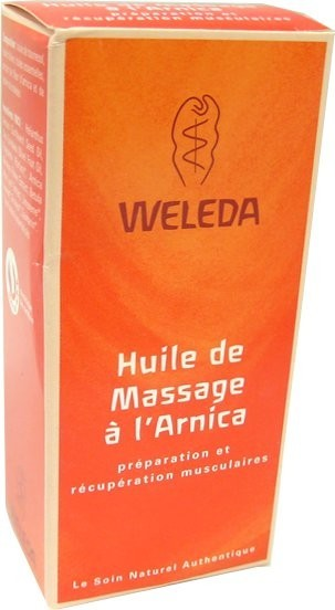 weleda huile de massage a l 39 arnica 50ml. Black Bedroom Furniture Sets. Home Design Ideas