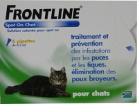FRONTLINE CHAT 6 PIPETTES