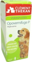 CLEMENT THEKAN OPOVERMIFUGE P SIROP CHANTONS ET CHIOTS 200ML