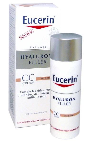 eucerin hyaluron filler cc cream medium 50ml. Black Bedroom Furniture Sets. Home Design Ideas