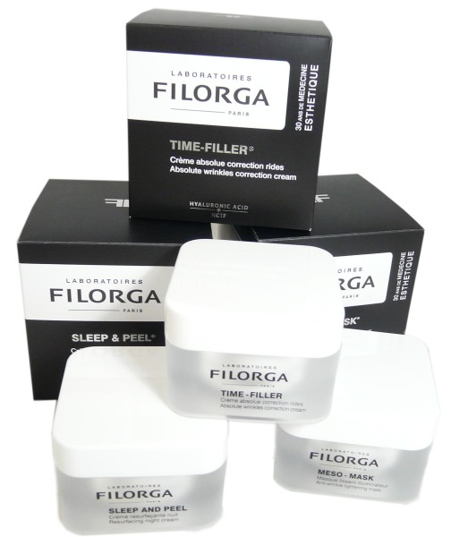 filorga pack promo sleep peel meso mask et time filler. Black Bedroom Furniture Sets. Home Design Ideas